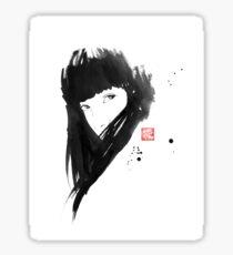 chinese  girl Sticker