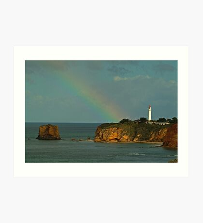 Nature's Spotlight, Airey's Inlet, Great Ocean Road Art Print