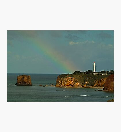 Nature's Spotlight, Airey's Inlet, Great Ocean Road Photographic Print