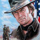 Clint Eastwood American Legend by arfineart