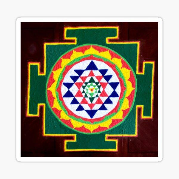 Sri Yantra Sticker