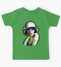 Girl's Twenties Vintage Glamour Art Portrait Kids Clothes