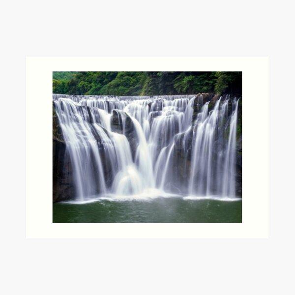 Shifen Waterfalls, Pingxi in Taiwan Art Print