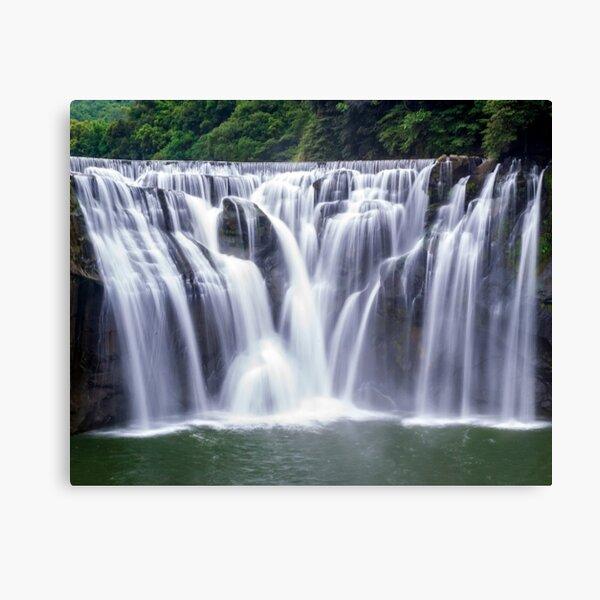 Shifen Waterfalls, Pingxi in Taiwan Canvas Print