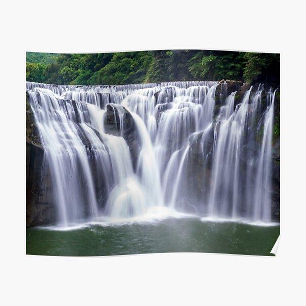 Shifen Waterfalls, Pingxi in Taiwan Poster