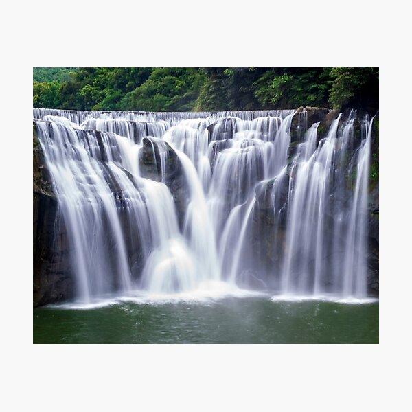 Shifen Waterfalls, Pingxi in Taiwan Photographic Print