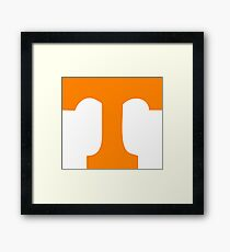 University of Tennessee  Framed Print