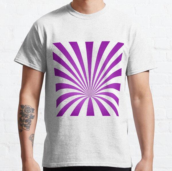 Whirl Background Art Classic T-Shirt