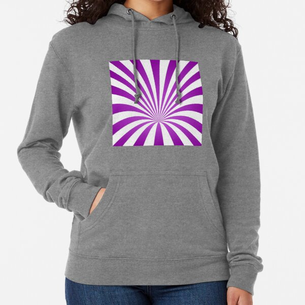 Whirl Background Art Lightweight Hoodie