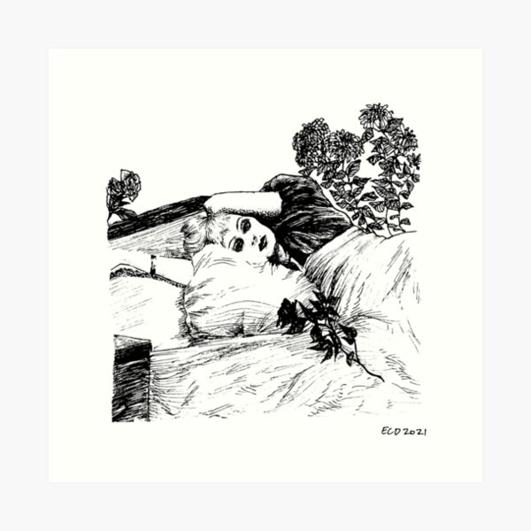 CANDY DARLING Art Print