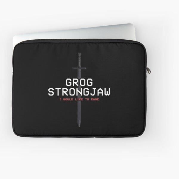GROG STRONGJAW - Pixel Series (Critical Role) Laptop Sleeve