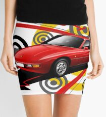 Porsche 924 T-shirt 'Explosion' Mini Skirt