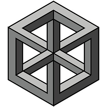 Mind Bending Isometric Cube by Wilburino