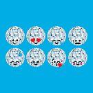 Emoji Building - Discoballs by SevenHundred