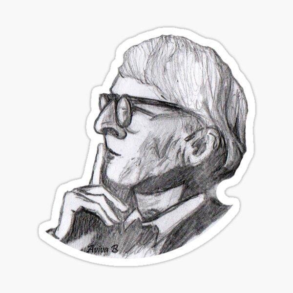 Louis Kahn Sticker