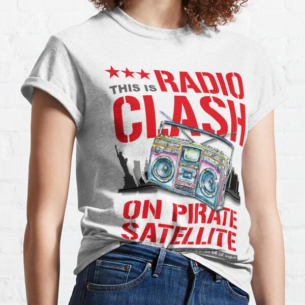 Radio Clash - The Clash Camiseta clásica