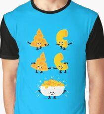 Character Fusion - Mac N Cheese Graphic T-Shirt