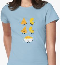 Charakter Fusion - Mac N Käse Tailliertes T-Shirt