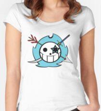 Cobalt Star Logo Women's Fitted Scoop T-Shirt