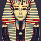 Tutankhamun 'King Tut' Hope Poster Style (Tut Tut) by Steve Crompton