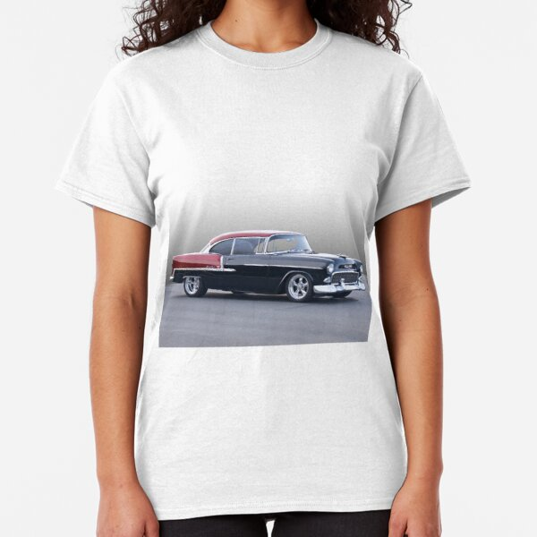 Chevrolet Chevy VINTAGE WHITE BORDER BOWTIE Licensed Adult T-Shirt All Sizes