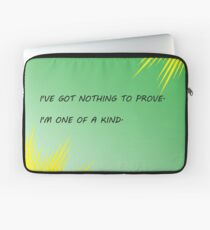 Young Justice Artemis quote Laptop Sleeve