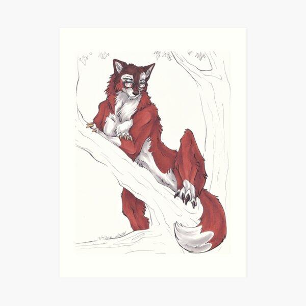 WereHiyori Art Print