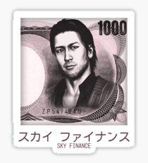 Akiyama 1000 Yen Shirt Sticker