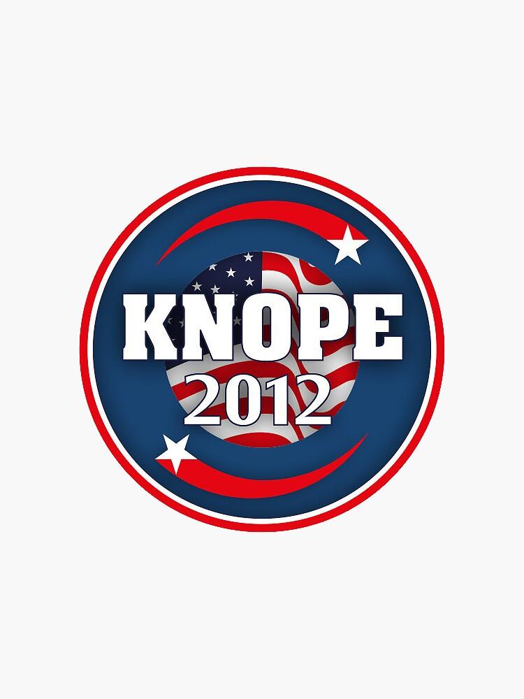 knope 2012 sticker by kaybirn