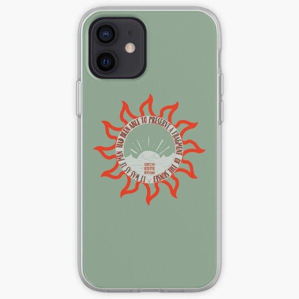 Captured Sunsets  - GKChesterton OliveRed iPhone Soft Case