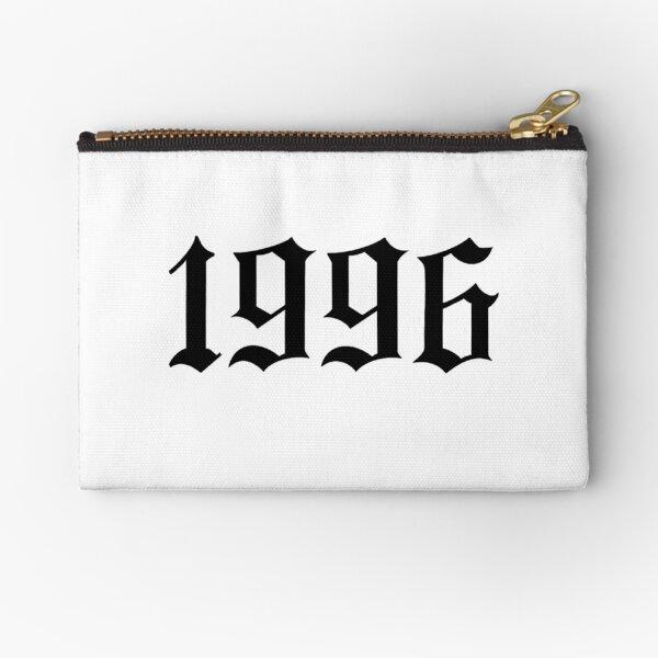1996 Gothic Font Zipper Pouch
