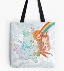 I Am Loved ( fish sandwich ) Main Line Products Tote Bag