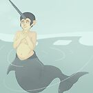 Narwhal Mermaid by nickelcurry