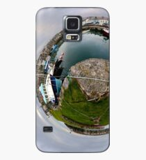 Hurry Head Harbour, Carnlough, County Antrim - Sky out Case/Skin for Samsung Galaxy
