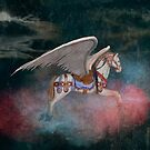Night Flight of the Carousel by Russell Fry