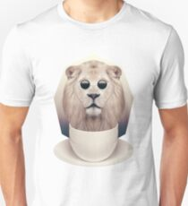 Caffeinimals: Lion Unisex T-Shirt