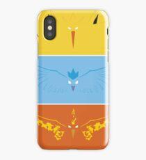 Pokemon - Legendary Birds iPhone Case/Skin