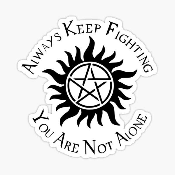 Supernatural Not Alone v1.0 Sticker