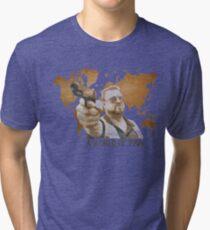 A World Of Pain Tri-blend T-Shirt