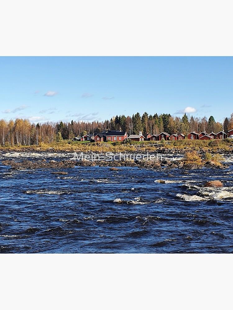 Kukkolaforsen Stromschnellen von Mein-Schweden