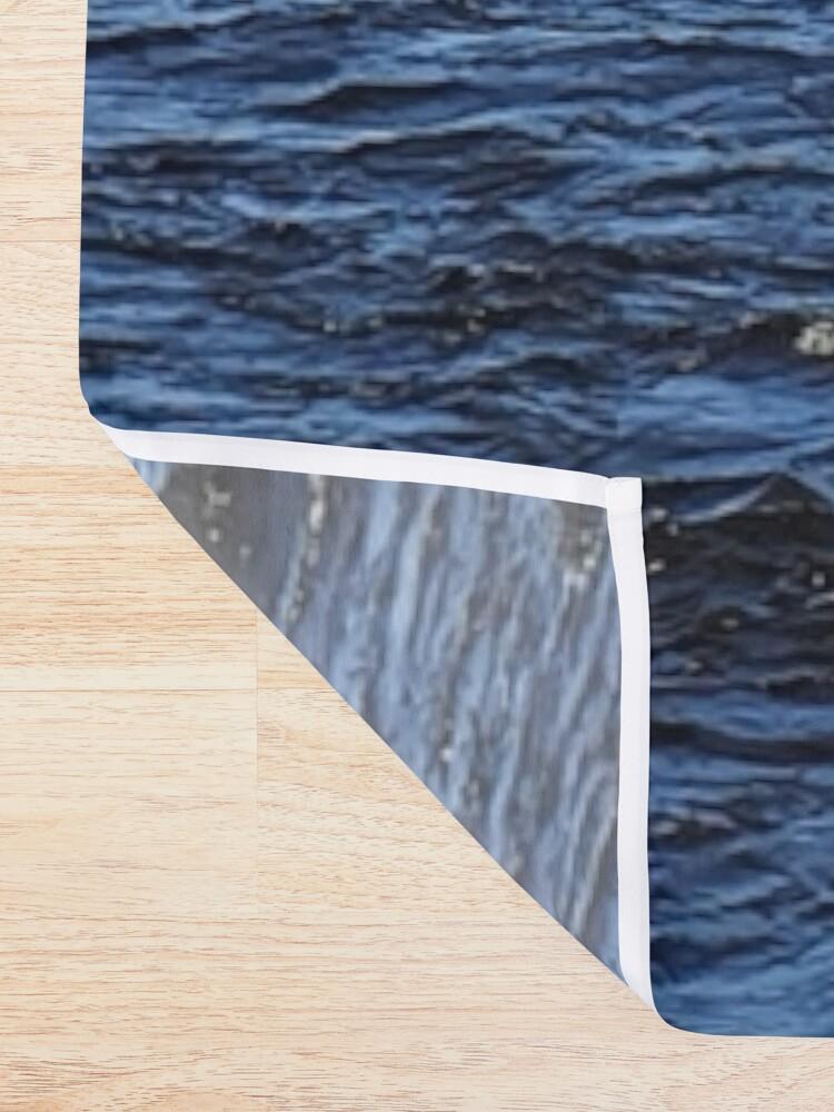 Alternative Ansicht von Kukkolaforsen Stromschnellen Duschvorhang