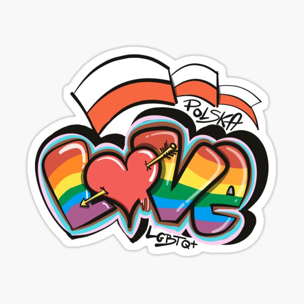 LGBTQ+ Polska Sticker