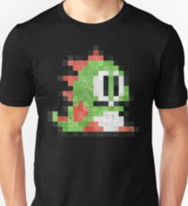 Bubble Bobble Green Dragon  T-Shirt