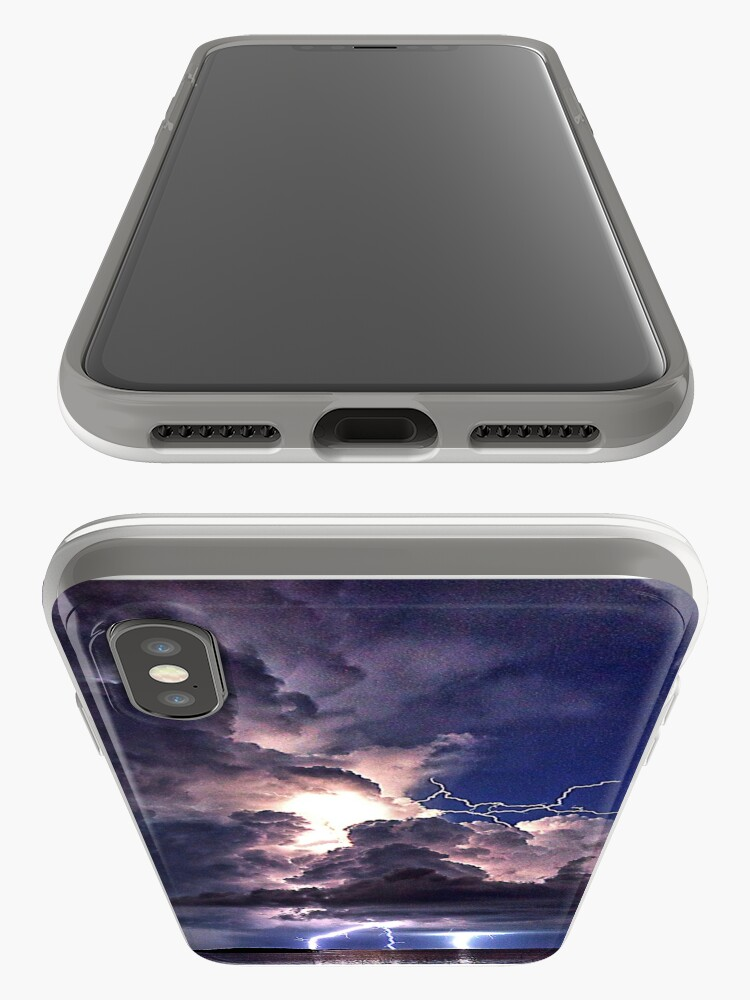 Alternate view of Lightning in HDR iPhone Case & Cover