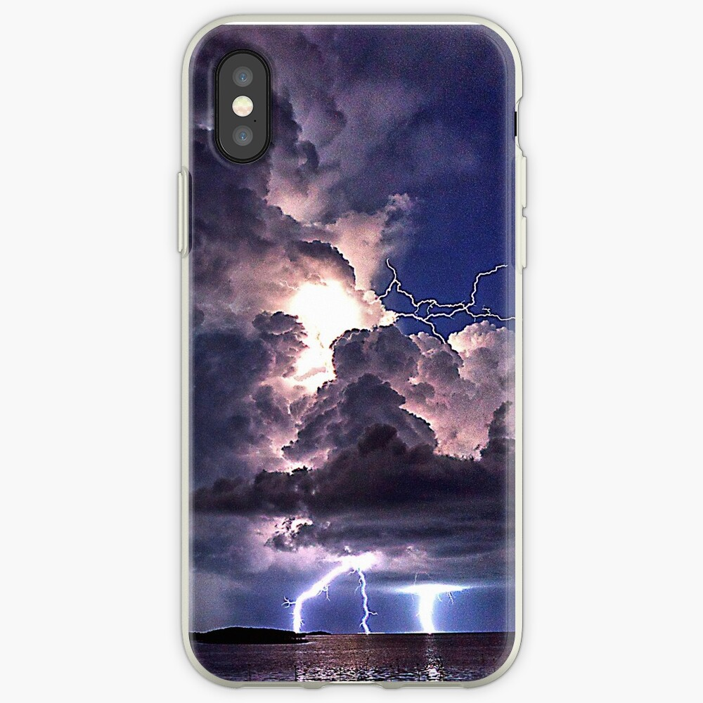 Lightning in HDR iPhone Case & Cover