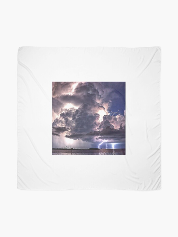 Alternate view of Lightning in HDR Scarf