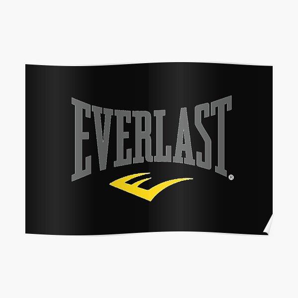 EVERLAST logo Poster