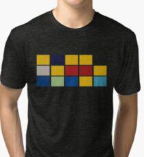 Simpsons Minimalist Tri-blend T-Shirt