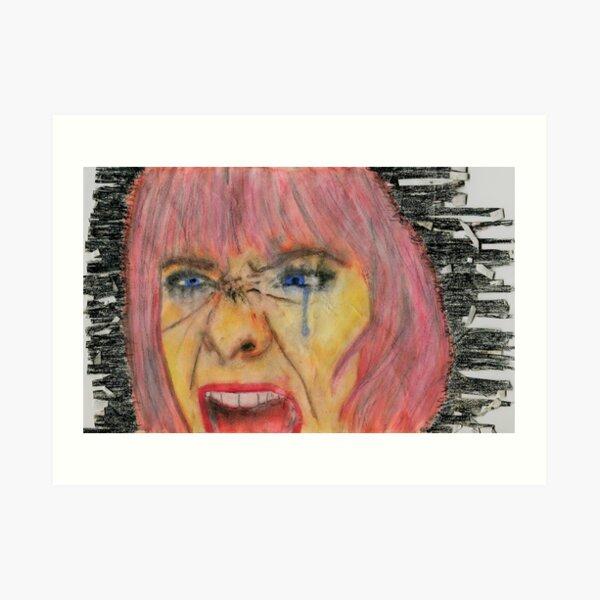 HYSTERICAL WOMEN Art Print