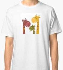 Beautiful #safari animals collection Classic T-Shirt